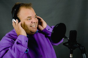 male voice over warm sincere english french